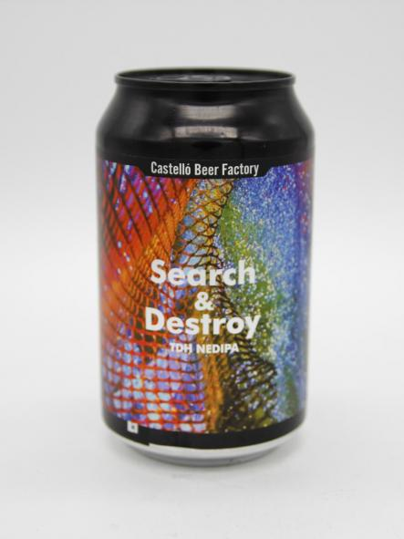 CASTELLÓ BEER FACTORY - SEARCH & DESTROY 33cl