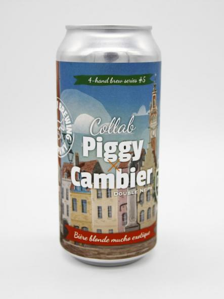 THE PIGGY BREWING - PIGGY COLLAB CAMBIER 44cl