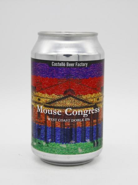 CASTELLÓ BEER FACTORY - MOUSE CONGRESS 33cl