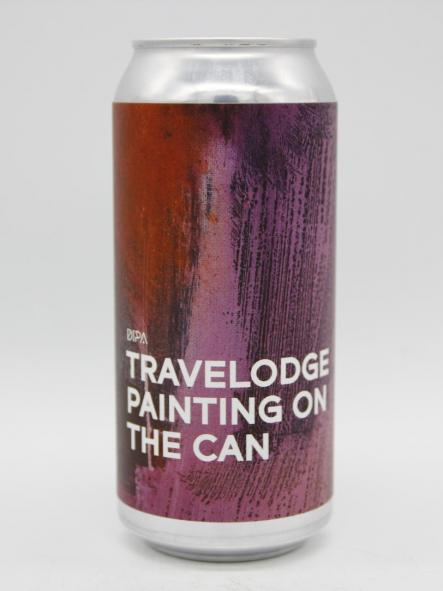 BOUNDARY - TRAVELODGE PAINTING ON THE CAN 44cl