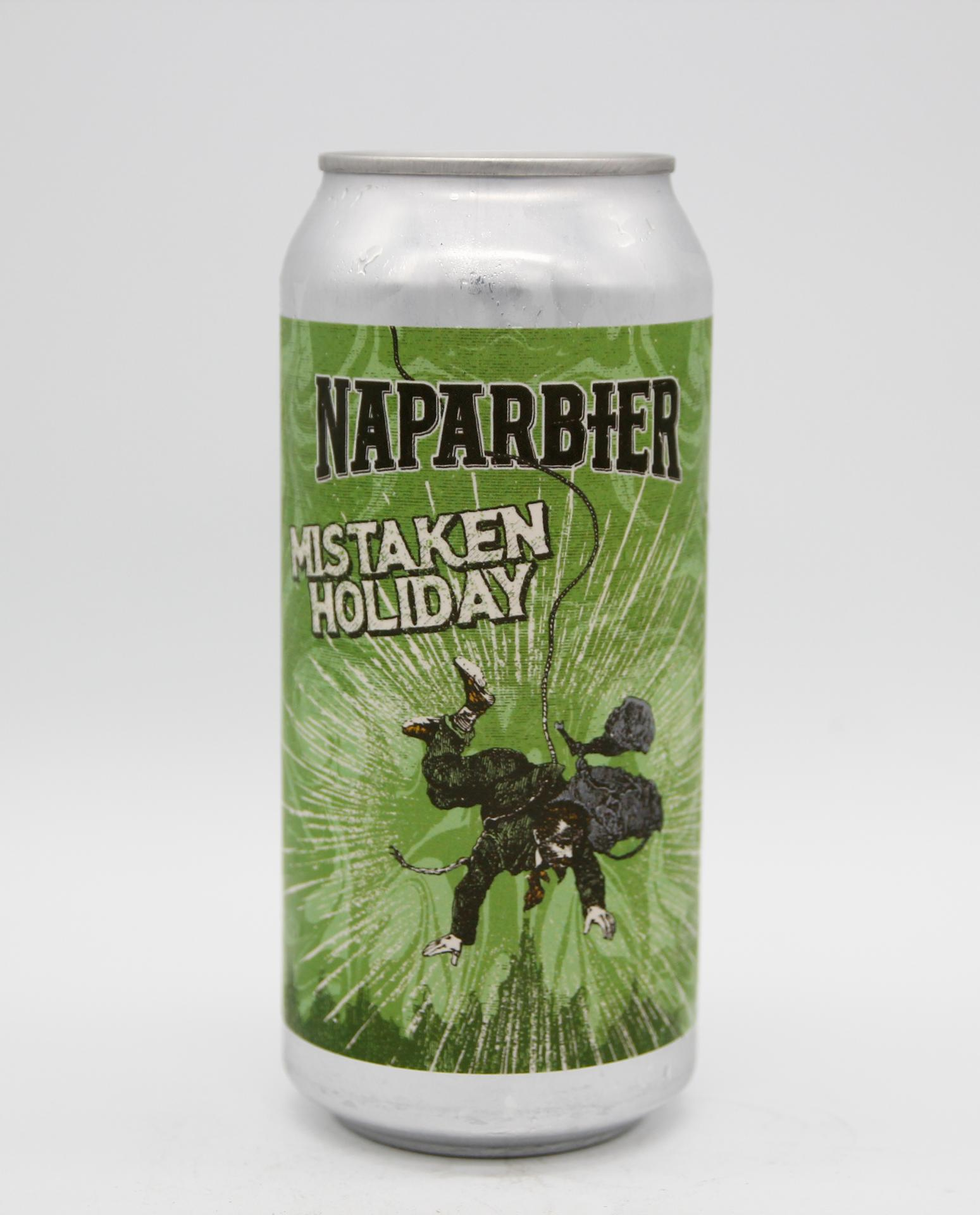 NAPARBIER - MISTAKEN HOLIDAY 44cl