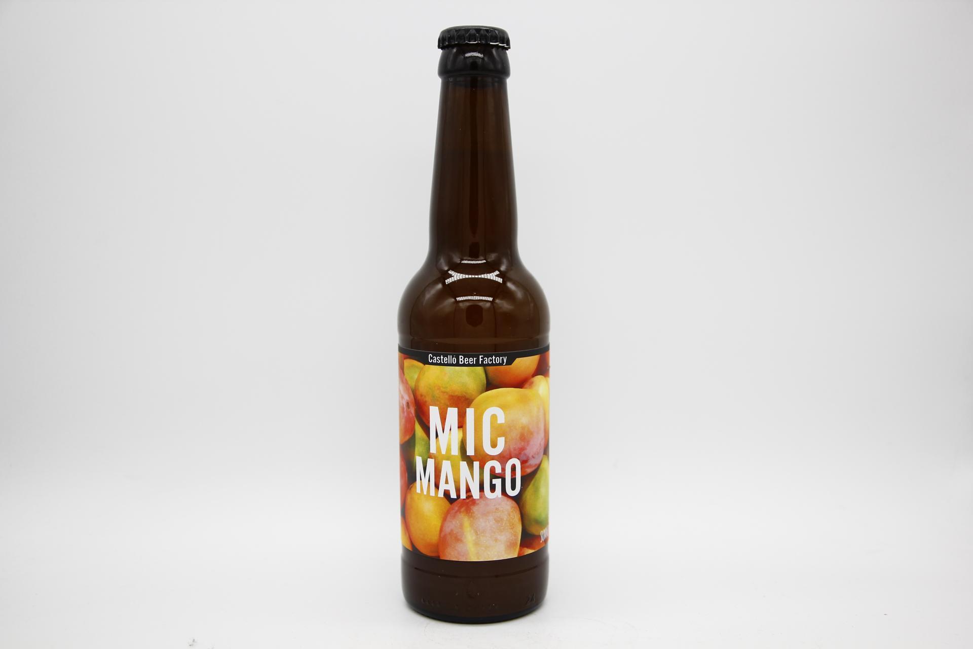CASTELLÓ BEER FACTORY - MIC MANGO 33cl