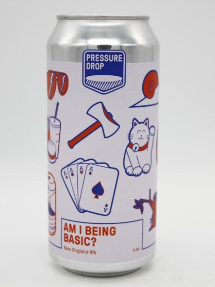 PRESSURE DROP - AM I BEING BASIC? 44cl [0]