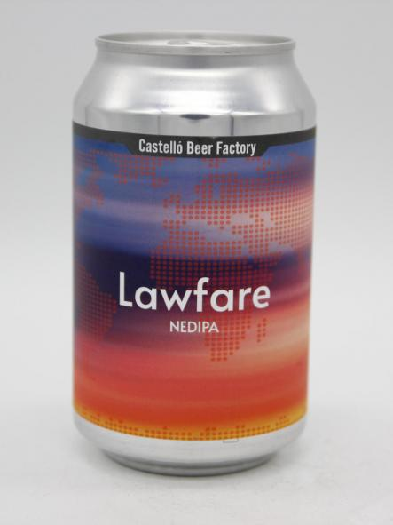 CASTELLÓ BEER FACTORY - LAWFARE 33cl
