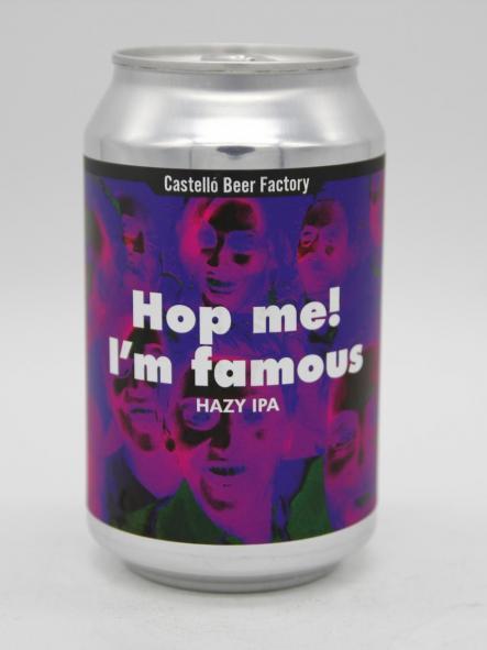 CASTELLÓ BEER FACTORY - HOP ME! I'M FAMOUS 33cl