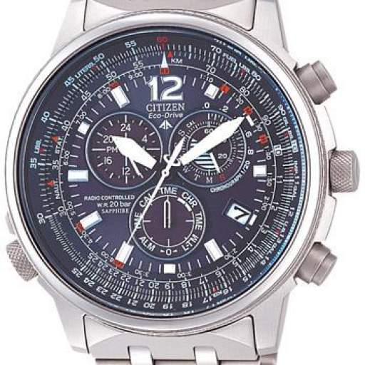 CITIZEN Crono Pilot Titanio  AS4050-51E [0]