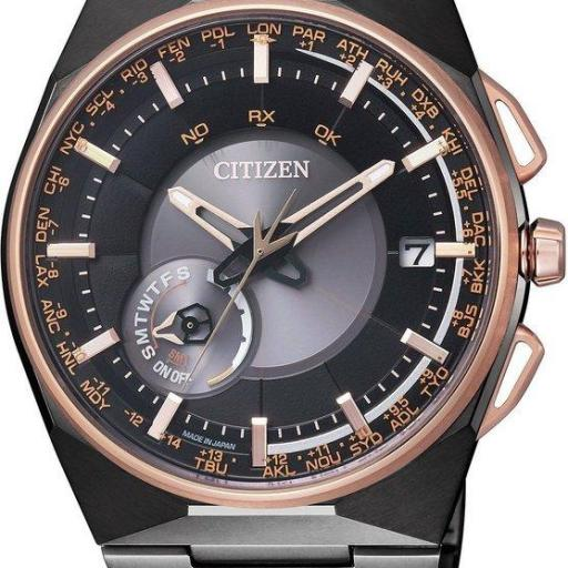 CITIZEN SATELITE WAVE F100 CC2004-59E  EDICIÓN LIMITADA