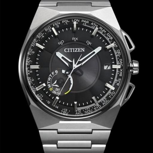 CITIZEN F100 CC2006-53E  SATELITE WAVE