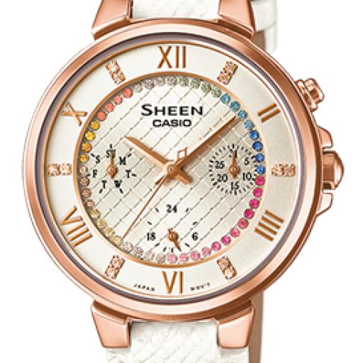 CASIO SHEEN SHE-3041PGL-7AUER