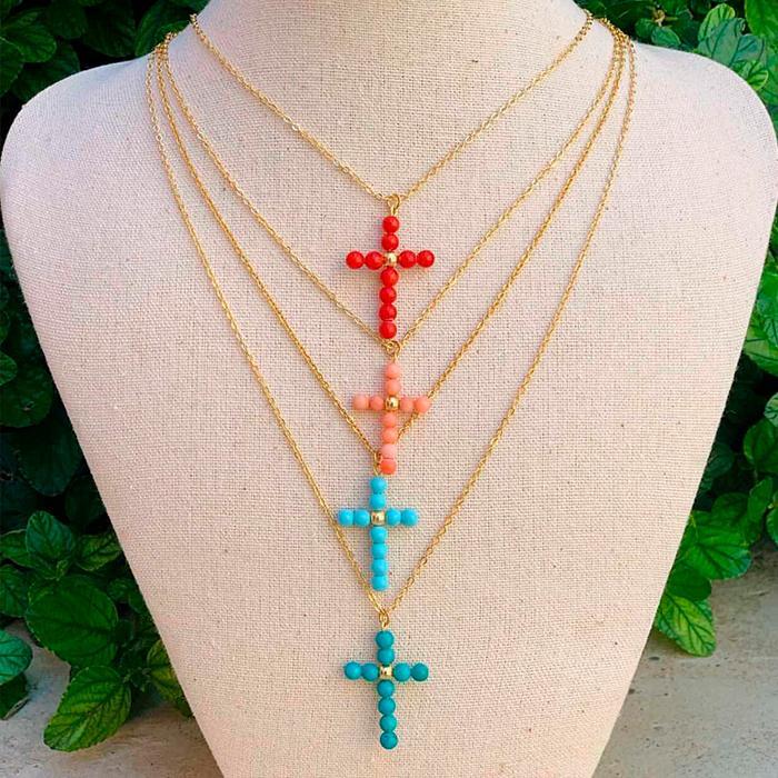 Collar Cruz Made in Mare