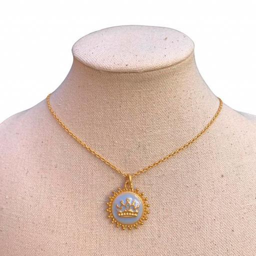 Collar Bambola - Queen cadena