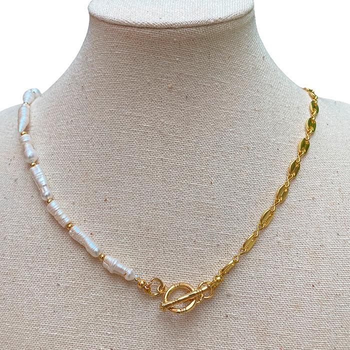 Collar Made in Mare - Eslabones pequeños dorados