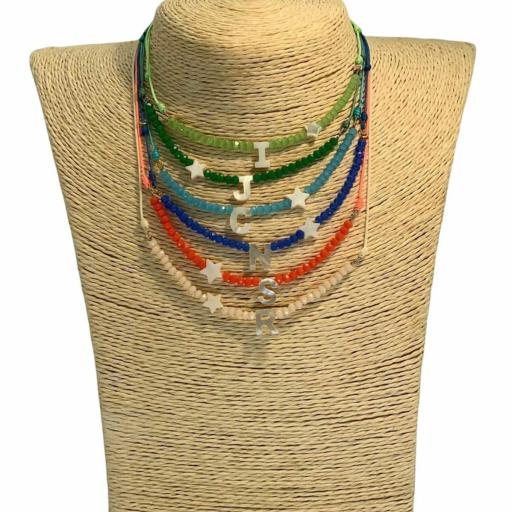 Collar Minerales Made in Mare - Iniciales