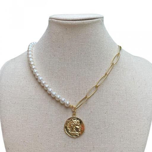 Collar Made in Mare - Medallón