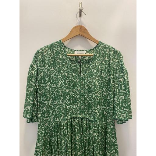 Vestido Verde Estampado [1]