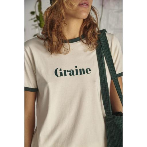 Camiseta Pic - Blanco Invierno