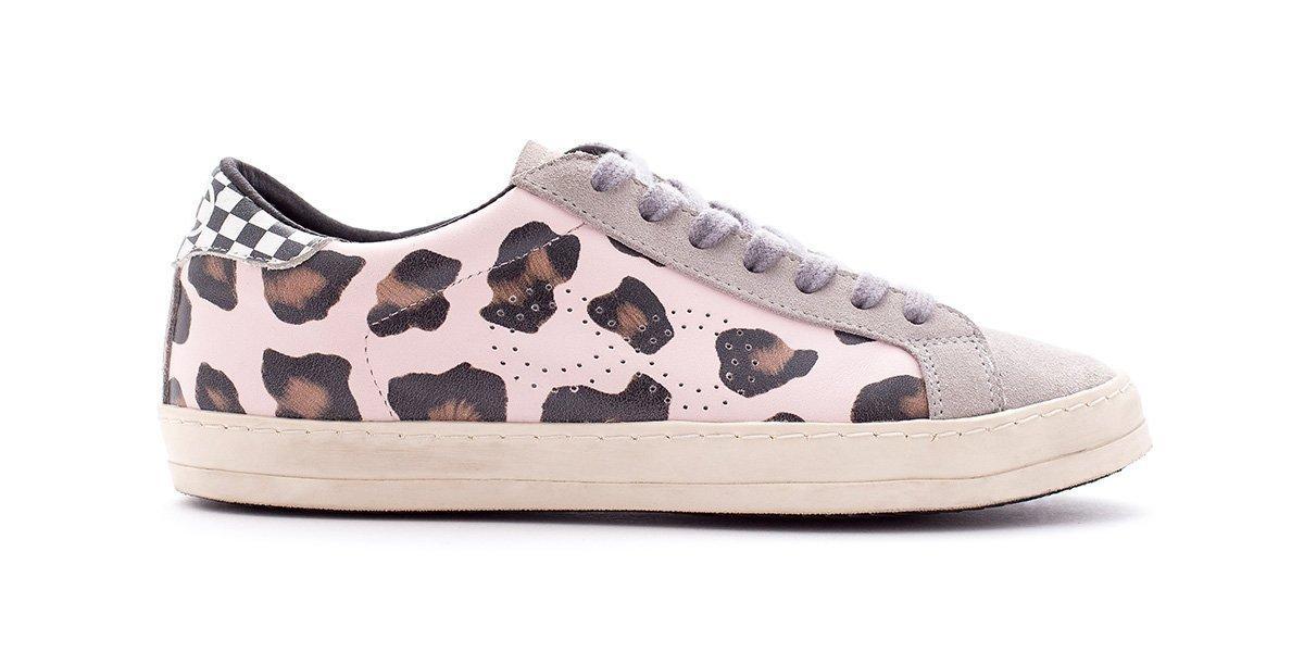 Rubrics Low Leopard Pink