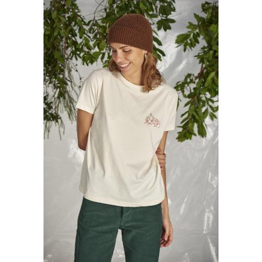 Camiseta Le beret - Winter White [1]