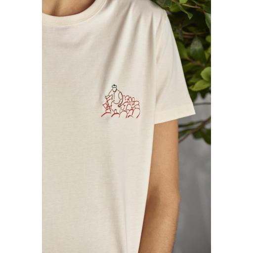 Camiseta Le beret - Winter White