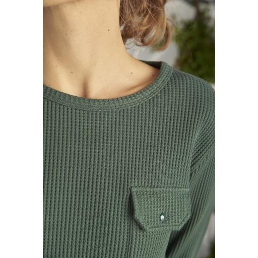 Camiseta Mont Blanc - Verde oscuro [1]