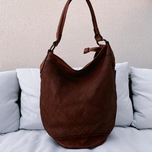 Bolso saco marrón [1]