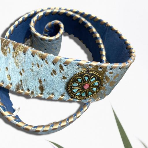 Cinturón color azul [1]