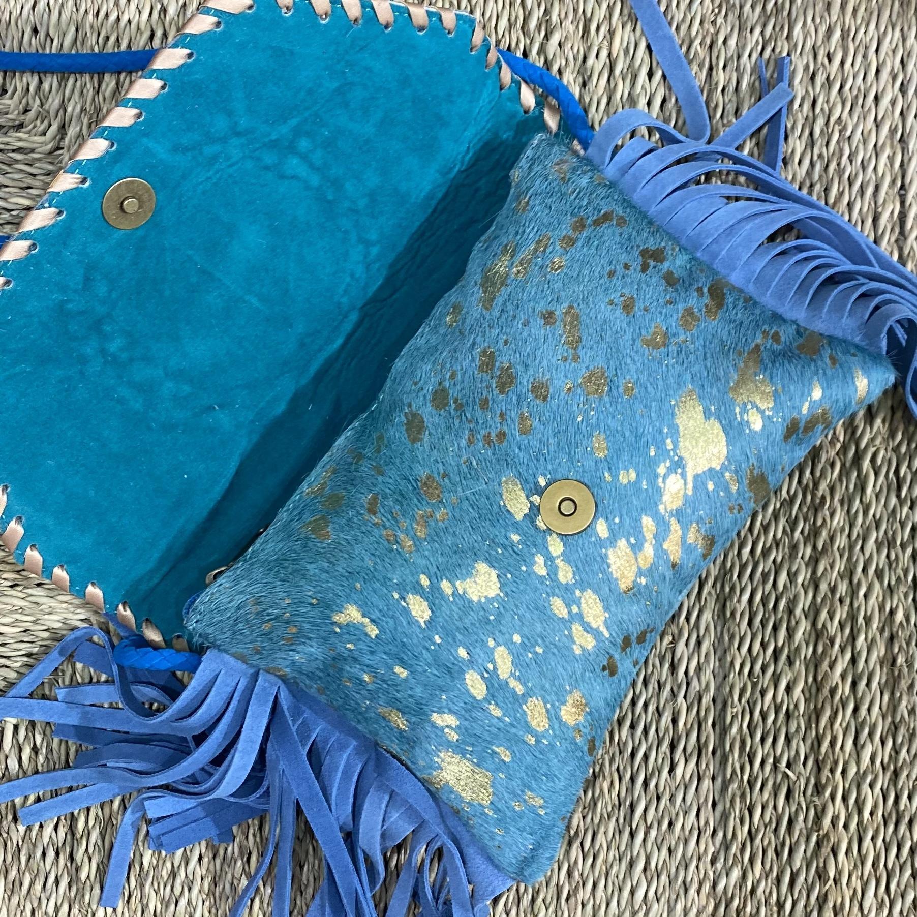 Bandoleras colores azul