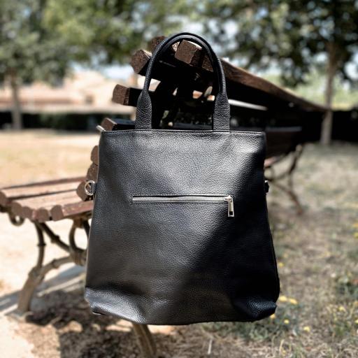 Shopper piel negro [1]