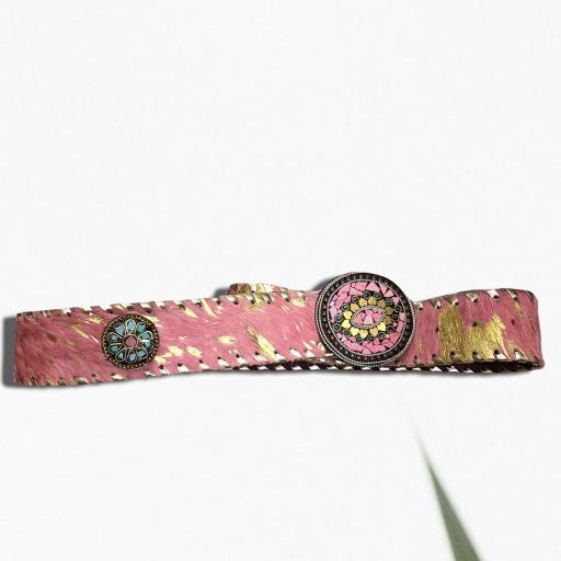 Cinturón color fucsia [2]