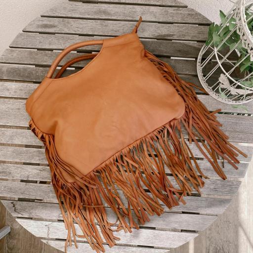 bolso cartera boho marrón [1]