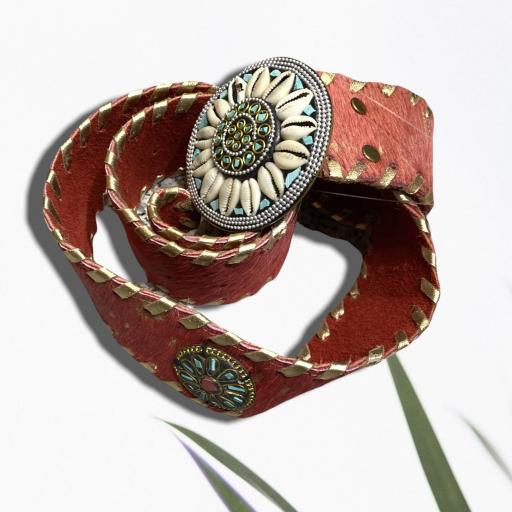 Cinturón color rojo [2]