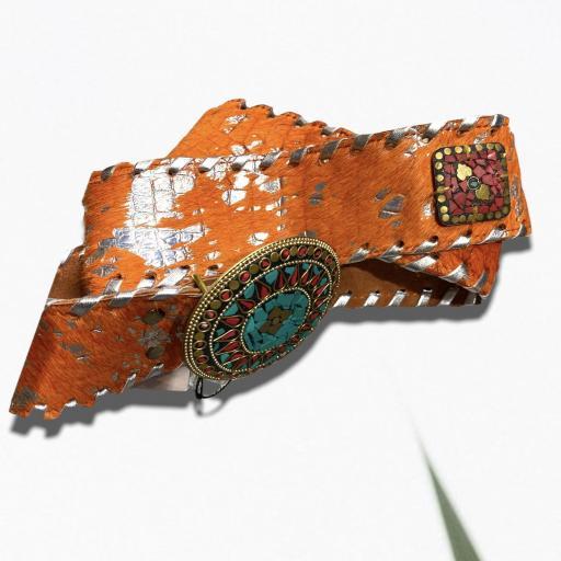 Cinturón color naranja