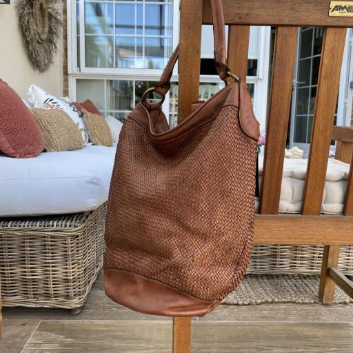 Bolso saco marrón [3]
