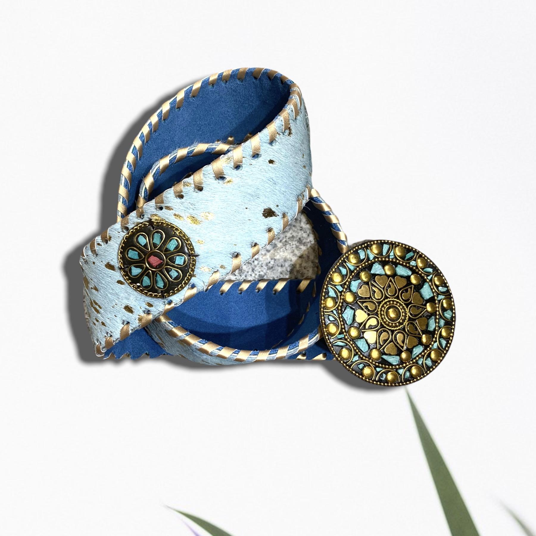 Cinturón color azul