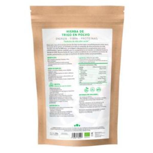 Hierba de trigo ecológica [2]