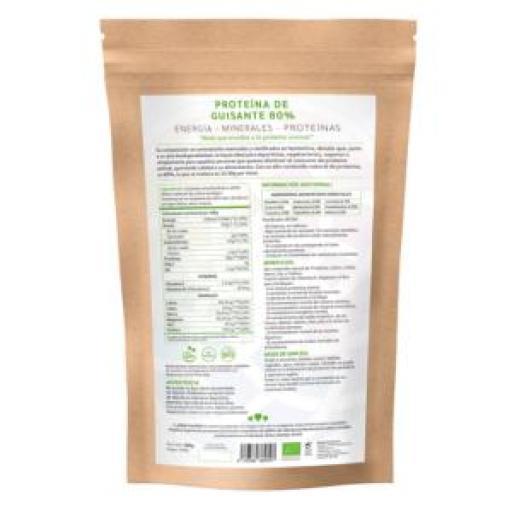 Proteína de guisante ecológica (80%) [2]