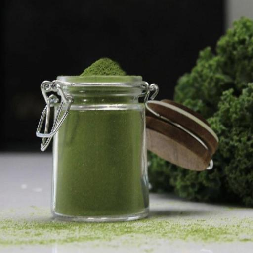 Kale en polvo ecológica