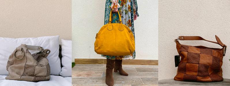 Bolsos de piel lavada: perfectos para completar tus looks de otoño