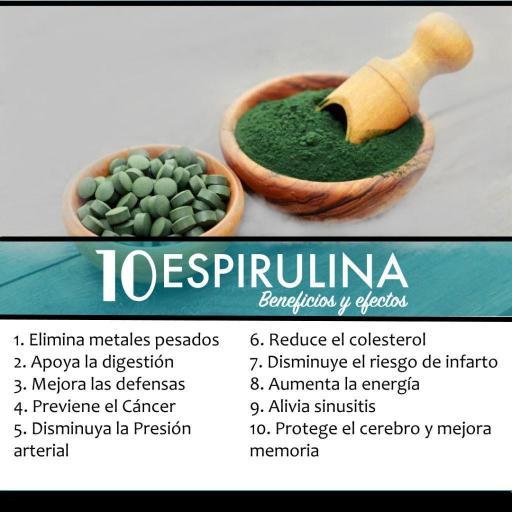 Spirulina en polvo ecológica [3]