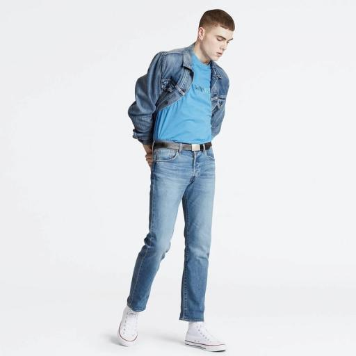 Levi's 501 Original Fit Jeans Ironwood Overt 00501 2920. Vaquero hombre