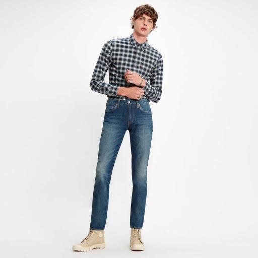 Levi´s 511 Slim Cioccolato Cool 04511 4216. Pantalón denim