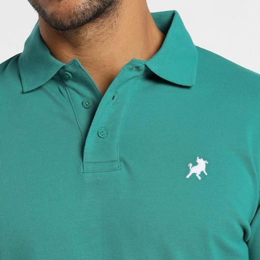 Lois Jeans Polo Filipo Classic Verde azulado 130584000 [2]