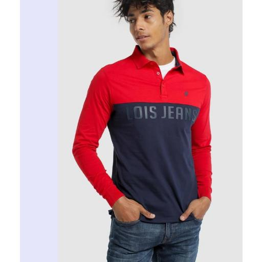Lois Jeans Polo FIRE LOE 117636