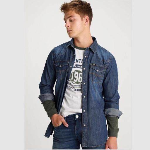 Lois Jeans Camisa Vaquera Orit Forrest 119889