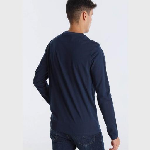 Lois Jeans Camiseta hombre Prisco Viktor marino 120289 [1]