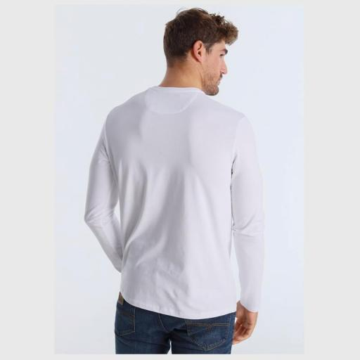 Lois Jeans Camiseta hombre Porter Eddar blanca 120292 [2]
