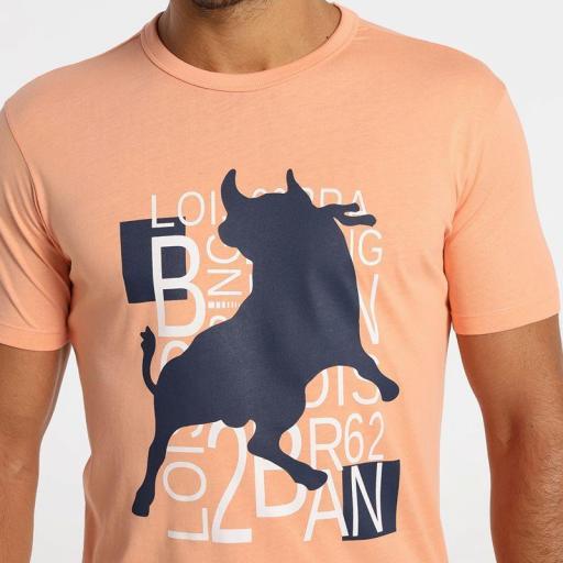 Lois Jeans Camiseta Fiesta Flix Coral 15638-3447 [2]