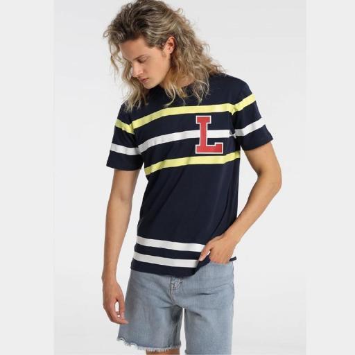 Lois Jeans Camiseta Barbaro Hunky 121617