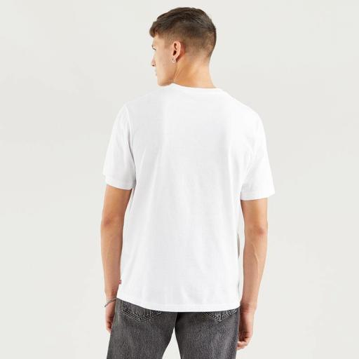Levi's SS Relaxed Fit Tee - SSNL Logo MV White 16143 0125. Camiseta hombre [3]