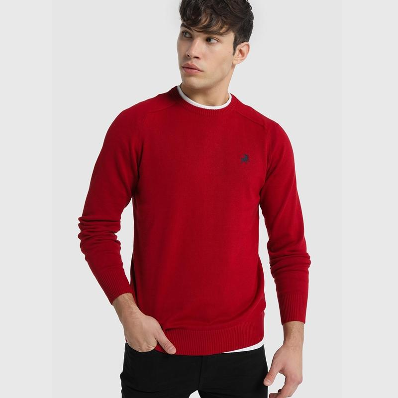 Lois Jeans Jersey Sapel Corfú Rojo-Granate 117709